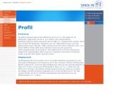 Website VINETA 98 Wohnungsgenossenschaft