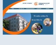 Website Gemeinnützige Wohnungsgenossenschaft Neukölln eG