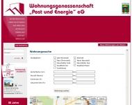 Bild Wohnungsgenossenschaft Post und Energie eG.
