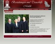 Bild Webseite Malek Franziska Bestattungen Harzgerode