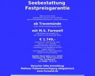 Bild Seebestattungs-Reederei-Hamburg Kapitän Horst Hahn & Co. GmbH