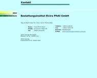 Bild Bestattungsinstitut Elvira Pfohl GmbH Bestattungen
