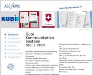 Bild Webseite ABC//GWS Köln