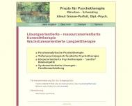 Bild Webseite Grosse-Parfuß Almut Dipl.Psych. psychotherapeut. Praxis Bioenergetik München