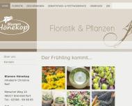 Bild Webseite Hönekop-Annegarn Gärtnerei Ascheberg