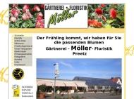 Bild Webseite Gärtnerei Möller Postfeld