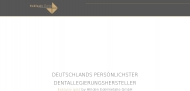 Website Ahlden Manfred Dentaldepot Edelmetalle