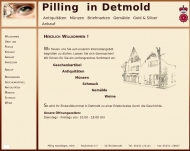 Pilling Antiquit?ten M?nzen Briefmarken Gem?lde Ankauf Detmold