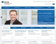 Bild Webseite Berufsgenossenschaft Holz und Metall Adelsheim