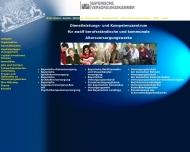 Bild Webseite Bayerische Versorgungskammer Nürnberg