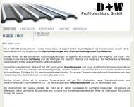 Bild Webseite D + W Profilblechbau Spiesen-Elversberg