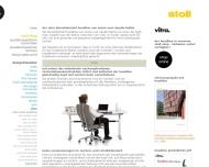 Website Stoll Wohnbedarf & Objekt