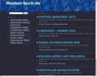 Website Möbel Buch