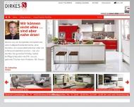 Bild Webseite Dirkes Dortmund