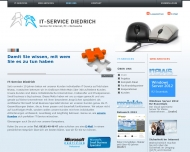 Website Diedrich, Service für Internet, PC und Netzwerke Jörg u. Hoffmann Susanne Internetservice