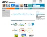 Bild Verband der Bayerischen Energie- und Wasserwirtschaft e.V. - VBEW