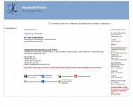 Website Kerner Jutta Dr. Hautarzt
