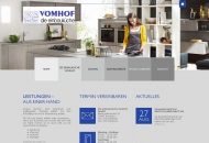 Bild Webseite Die Einbauküche Vomhof Konstanz