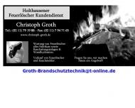 Bild Groth Christoph Feuerlöscher Kundendienst