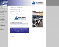 Bild Webseite Infinanz Prof. Dr. Busse Institut f. Finanz- u. Investitionsmanagement München