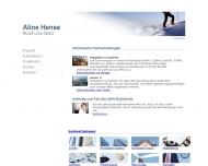 Bild Webseite Hense Aline Vermögensberatung München