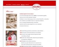 Website Metzgerei Ebling