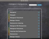 Bild Webseite Mangold Metzgerei Oberelsbach