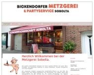 Bild Sobolta Fleischer Fachgeschäft Party-Service u. Spezialitäten, Metzgerei