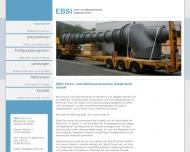 Bild Webseite Eisen- und Blechwarenwerk Siegerland Netphen
