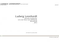 Bild Webseite Leonhardt Ludwig Fotodesigner München