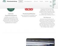 Bild Webseite DSP Pulverbeschichtung Wuppertal
