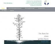Bild Webseite P. Wiedeburg München