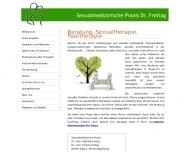 Website Dr. med. Gabriele Freitag, Frauenärztin