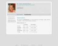 Bild Braun Daniela Dr.med. Fachärztin für Gynäkologie und Geburtshilfe