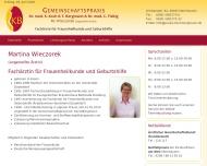 Bild Wieczorek Martina Fachärztin für Frauenheilkunde und Geburtshilfe