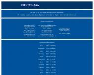 Bild Webseite GÖTZ ElektroHandel Reutlingen