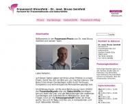 Website Seinfeld Bruno Dr.med Praxis Gynäkologische Facharztpraxis