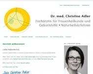 Bild Adler Christine Dr. Frauenärztin