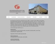 Bild Webseite Baugenossenschaft des Verkehrspersonals 1898 eG München
