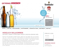 Bild GETRÄNKE DOEDEN Willi Doeden GmbH & Co. KG Getränkehaus