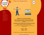 Bild Webseite Adick Getränke -Lieferservice-Gastronomie-Veranstaltungen Münster