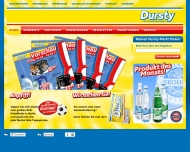 Bild Webseite Dursty Getränkemärkte Aachen