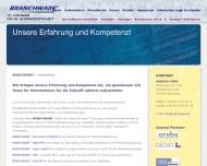 Website BRANCHWARE & PARTNER