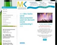 Bild Webseite Michelle Stocker MK Getränkefachhandel Rheinau