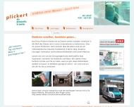 Website Plickert Glaserei-Betriebe