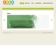 Bild Webseite Kock August Malerbetrieb Spelle