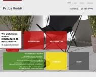Bild Webseite ProLa Reutlingen
