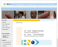 Bild Webseite Kreutzer Ulf-Thilo Dr.med. Hals- Nasen- Ohrenarzt u. Beate Dr.med. Augenärztin Reutlingen