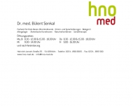 Bild Senkal Bülent Dr. med. Arzt f. Hals-Nasen-Ohrenheilkunde