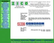Bild Webseite Zinnikus Köln